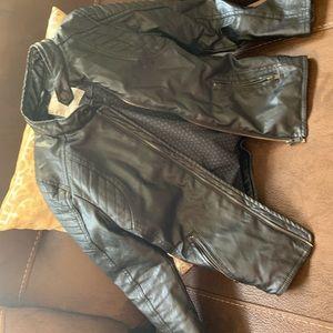 Other - Zara boys faux leather jacket